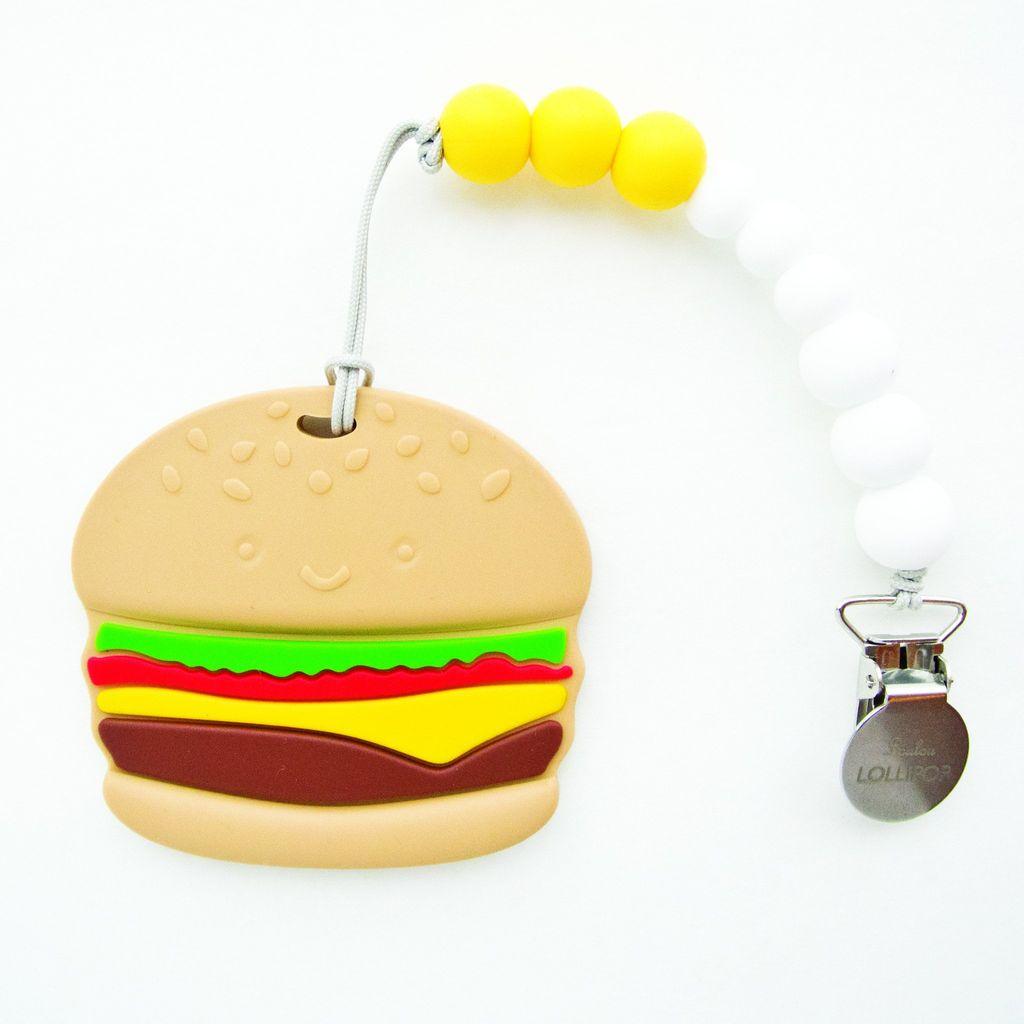 Loulou Lollipop Jouet de Dentition Hamburger de Loulou Lollipop/ Burger Teether