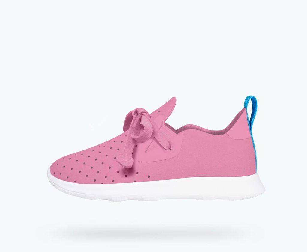 Native FW18 Souliers Native Apollo Moc Malibu Pink/Shell White AP Moc Junior