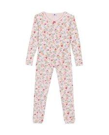 FW18 Pyjama SnugFit Fleur 2 Pièces / Petit Bateau