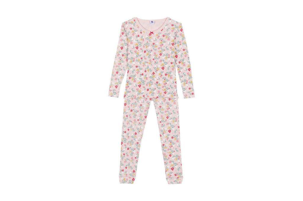 Petit Bateau FW18 Pyjama SnugFit Fleur 2 Pièces / Petit Bateau