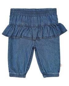 FW18 Pantalons en Jean à Volant Minymo / Pant