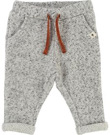 FW18 Pantalon Gris Clair Cordon Orange - Billybandit