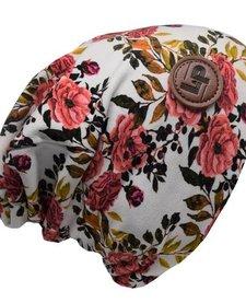 Tuque de Coton Ultra Stylée, Motifs Fleurs - L&P