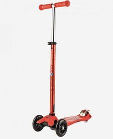 Maxi Micro Trottinette DELUXE Rouge/ Maxi Micro Scooter Deluxe Red