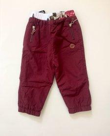 FW18 Pantalons Doublés D'extérieur Bordeau - L&P
