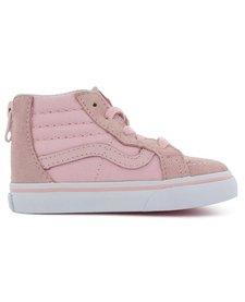 SS18 Souliers SK8-Hi Zip Chalk Pink/True White Vans
