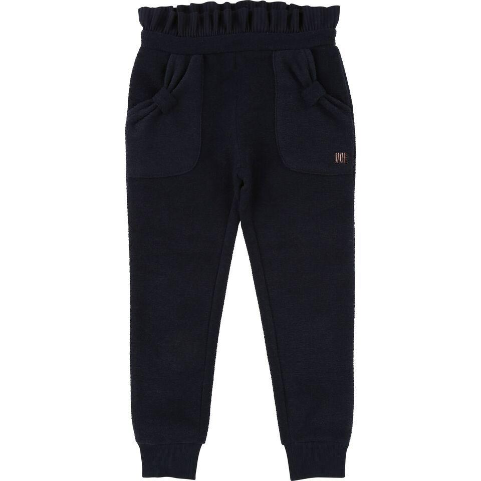 Carrément Beau FW18 Pantalon Épais Marine - Carrément Beau