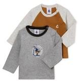 Petit Bateau FW18 Lot de 2 Chandails à Manches Longues Trottinette / Petit Bateau / Long sleeves Shirt