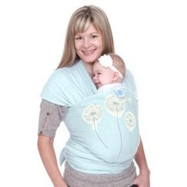Carriers Moby Wrap Designs Designs Dandelion Mint