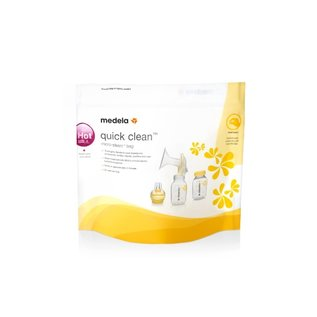 Breastpump Accessories Medela Quick Clean™ Micro-Steam™ Bags