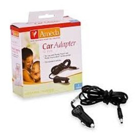 Breastpump Accessories Ameda Car Adapter 12 volt