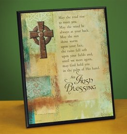 PLAQUES & GIFTS IRISH BLESSING PLAQUE