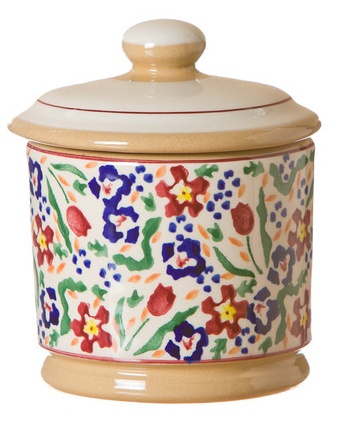 KITCHEN U0026 ACCESSORIES NICHOLAS MOSSE LIDDED SUGAR BOWL   WILD FLOWER