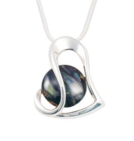 HEATHERGEMS HEATHERGEM OFFSET HEART PENDANT