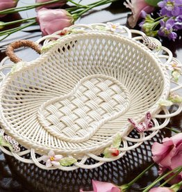 DECOR CHINA ORCHID ANNUAL 2015 BELLEEK BASKET