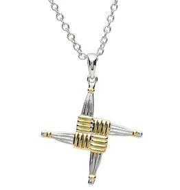 CROSSES PlatinumWare ST. BRIGID CROSS PENDANT