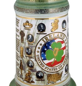 BARWARE IRISH AMERICAN STEIN