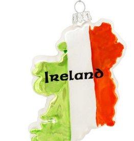 ORNAMENTS IRELAND SHAPE ORNAMENT