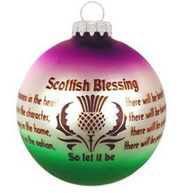 ORNAMENTS SCOTTISH BLESSING ORNAMENT