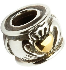 BEADS TARAS DIARY CLADDAGH BEAD