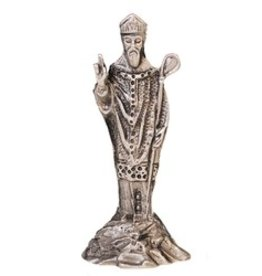 STATUES MULLINGAR PEWTER SAINT PATRICK'S STATUE - SMALL