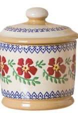 KITCHEN & ACCESSORIES NICHOLAS MOSSE LIDDED SUGAR BOWL - OLD ROSE