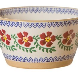 KITCHEN & ACCESSORIES NICHOLAS MOSSE SMALL ANGLED BOWL - OLD ROSE