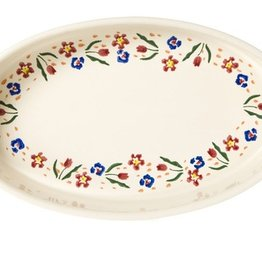 KITCHEN & ACCESSORIES NICHOLAS MOSSE MEDIUM OVAL OVEN DISH - WILD FLOWER