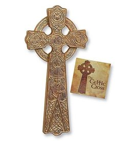 CROSSES CELTIC WALL CROSS