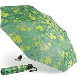 NOVELTY SHAMROCK UMBRELLA