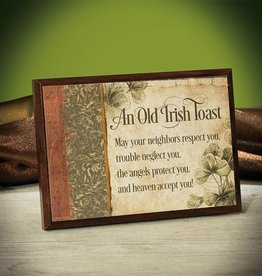 PLAQUES & GIFTS OLD IRISH TOAST PLAQUE