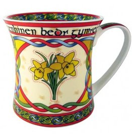 KITCHEN & ACCESSORIES CELTIC WEAVE 'WELSH DAFFODIL' MUG