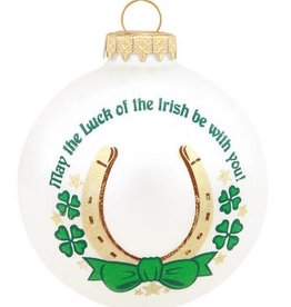 ORNAMENTS LUCK OF THE IRISH ORNAMENT
