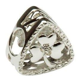 BEADS TARA'S DIARY DIAMOND SHAMROCK TRIANGLE BEAD