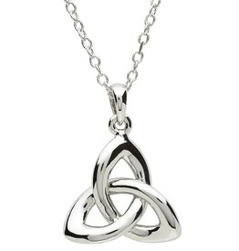 PENDANTS & NECKLACES PlatinumWare TWIST TRINITY KNOT PENDANT