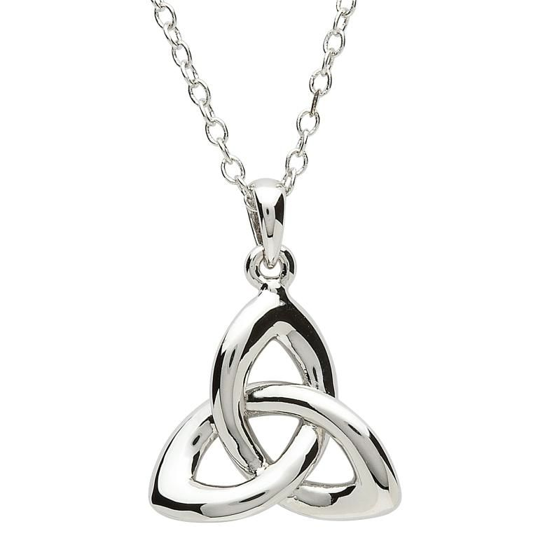 Pendants necklaces platinumware twist trinity knot pendant irish pendants necklaces platinumware twist trinity knot pendant aloadofball Images