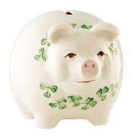 GIFTWARE BELLEEK PIGGY BANK