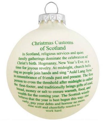 Ornaments scottish customs greeting ornament irish crossroads ornaments scottish customs greeting ornament ornaments scottish customs greeting ornament m4hsunfo