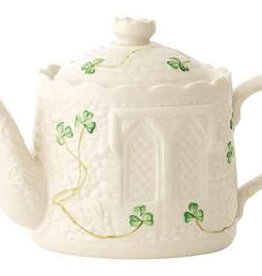 TEAPOTS, MUGS & ACCESSORIES BELLEEK CASTLE TEAPOT