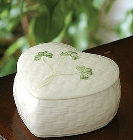 GIFTWARE BELLEEK KYLEMORE TRINKET BOX
