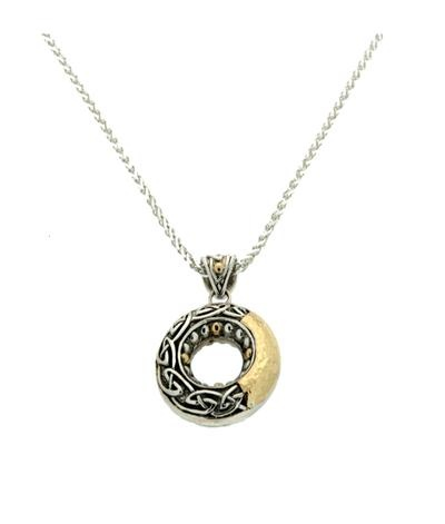 Pendants necklaces keith jack sterling 18k celtic circle pendant pendants necklaces keith jack sterling 18k celtic circle pendant aloadofball Image collections