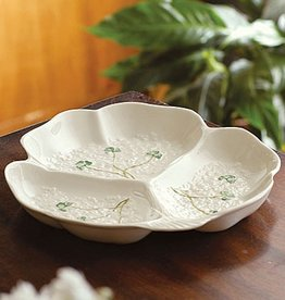 PLATES, TRAYS & DISHES BELLEEK FORTUNES PARTY DISH