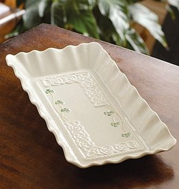 "PLATES, TRAYS & DISHES BELLEEK TARA 12"" TRAY"