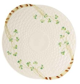 PLATES, TRAYS & DISHES SHAMROCK BREAD PLATE