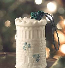 HOLIDAY NENAGH CASTLE BELL BELLEEK ORNAMENT