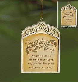 ORNAMENTS CHRISTMAS BLESSING ORNAMENT