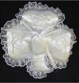 WEDDING ACCESSORIES SHAMROCK & TRINITY WEDDING PILLOW