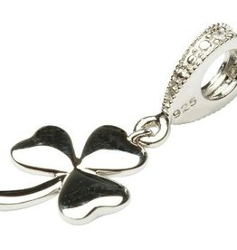 BEADS TARA'S DIARY DIAMOND DANGLE SHAMROCK BEAD