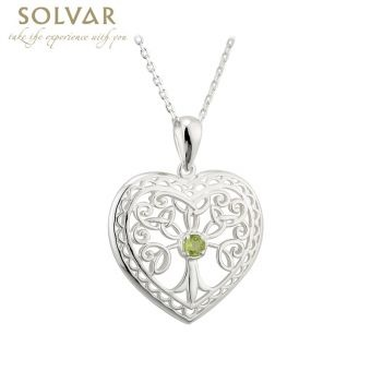 Pendants necklaces solvar sterling with stone tree of life heart pendants necklaces solvar sterling with stone tree of life heart pendant aloadofball Gallery