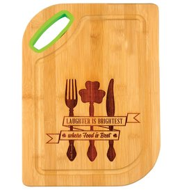 KITCHEN & ACCESSORIES IRISH WOOD CUTTING BOARD